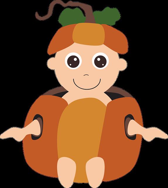Halloween Costume, Pumpkin Baby, Costume, Halloween