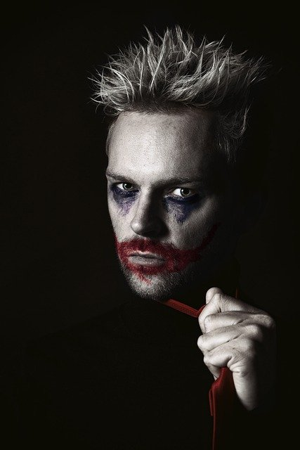 Joker, Horror, Halloween, Clown, Killer, Vampire