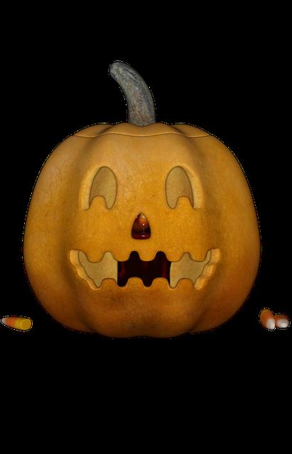 Halloweenkuerbis, Halloween, Pumpkin, Candlelight
