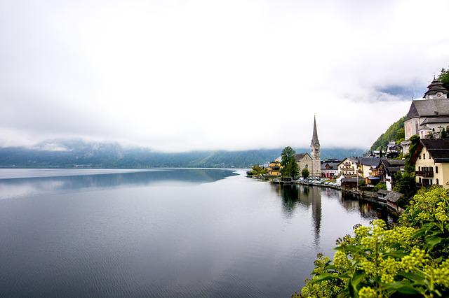 Hallstatt, Lake View, Early In The Morning