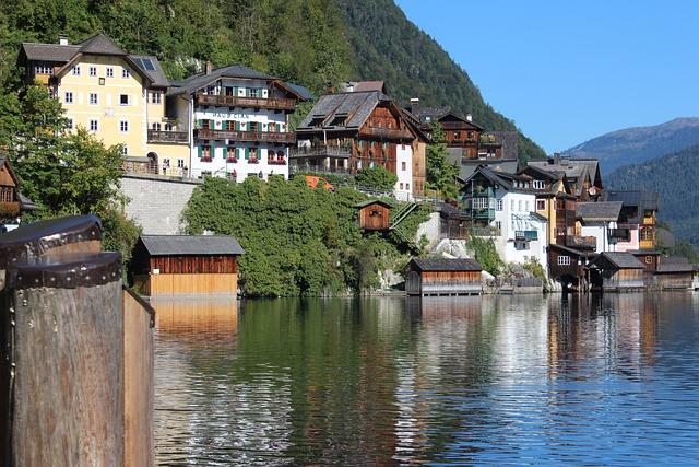 Hallstatt, Lake, World Heritage, Hallstättersee Lake