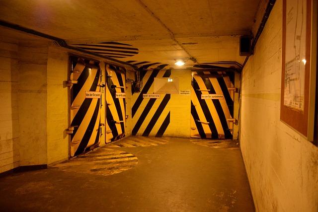 Architecture, Bunker, Civil Defense, Hamburg