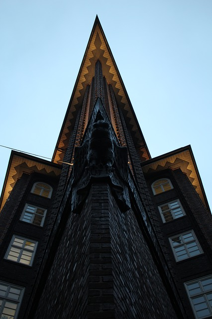 Hamburg, Building, Great, Architecture, Chile-house