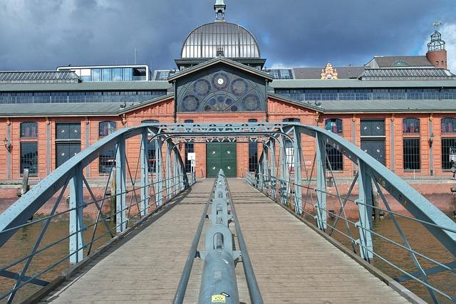 Port, Hamburg, Fish Market, Bridge