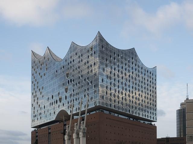 Hamburg, Germany, Elbe Philharmonic Hall, Landmark