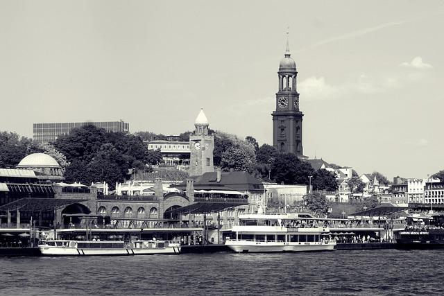 Hamburg, Hanseatic City Of Hamburg, Harbour Cruise