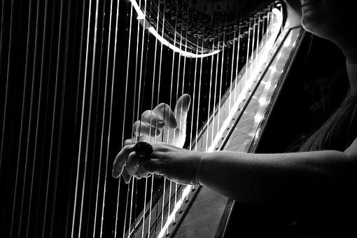 Concert, Harp, Logo, Hamburg, Breysen