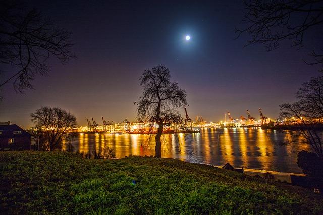 Hamburg, Hamburg Port, Elbe, Water, Ship