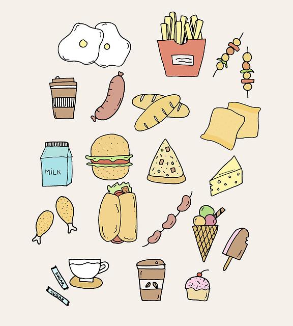Dinner, Meal, Food, Snack, Fast Food, Pizza, Hamburger