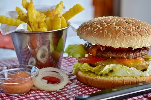 Burger, Hamburger, Bbq, Food, Fast Food, Delicious, Eat