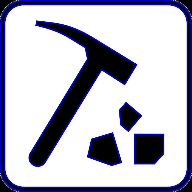 Gavel, Hammer, Sledge, Rock, Tool, Mining, Hammering
