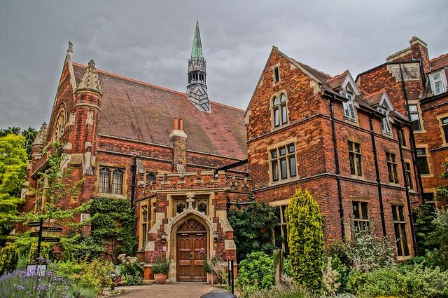 Hammerton College, Cambridge, Uk, Historic, College