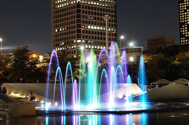 Fountain, Reflect, Han River, Saekgal
