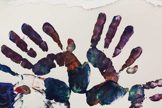 Art Therapy, Hand, Hands, Handprint