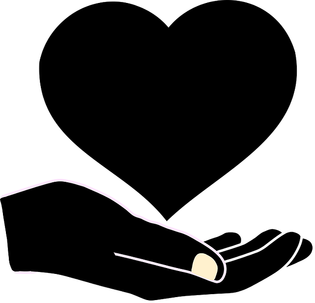 Children, Elderly, Families, Hand, Heart, Helping