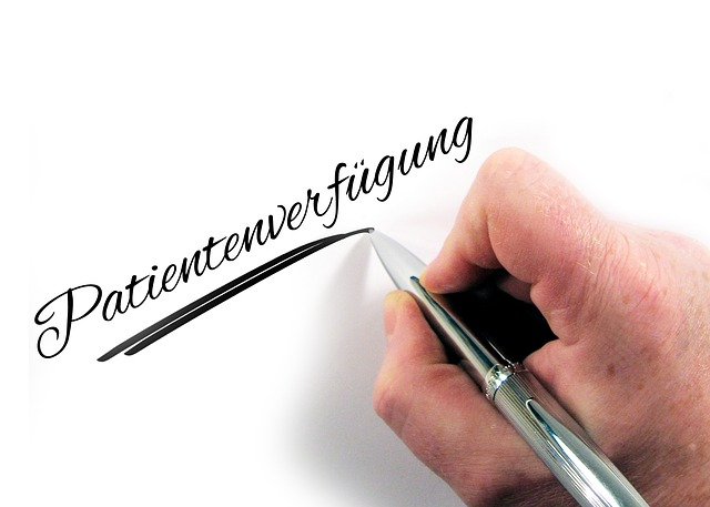 Advance Directive, Hand, Leave, Pen, Paper, Letters