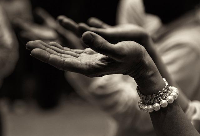 Hand, Buddhist Prayer Beads, Religion