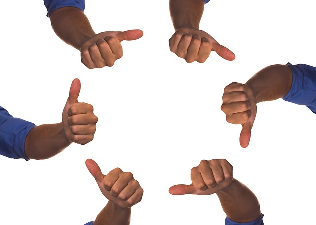 Hand, Thumb, Review, Quality, High, Down, Like, Gut