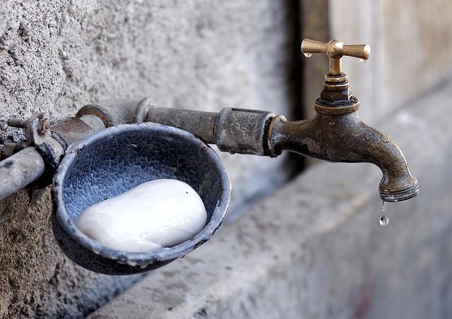 Faucet, Soap, Hand Washing, Fountain, Farm, Water