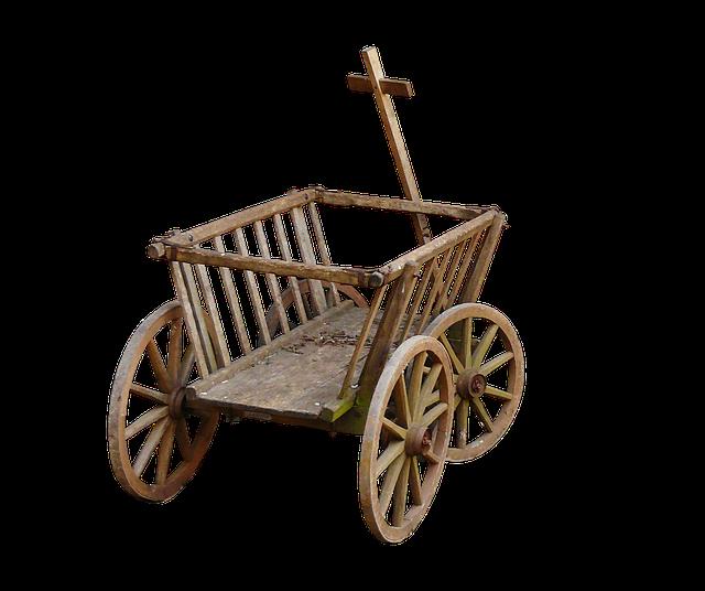 Stroller, Handcart, Cart, Wheel, Towbar, Father's Day