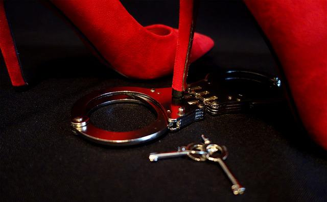 Handcuffs, High Heels, Erotic, Dominant, Woman, Sexy