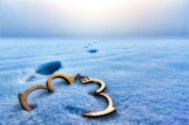 Snow, Ice, Freedom, Shackles, Clamps, Handcuffs