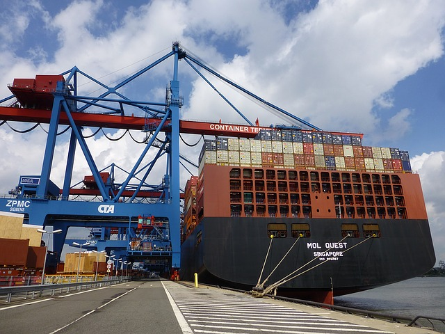 Container, Container Ship, Handling Goods