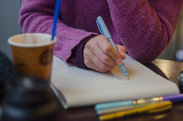 Process, Drawing, Pen, Hands, Brush, Figure, Draft