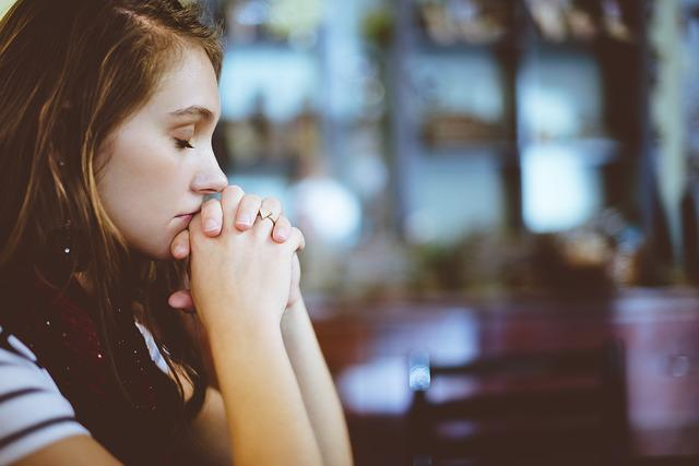 Blur, Close-up, Girl, Woman, Hands, Model, Praying
