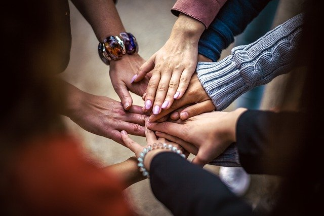 Team, Friendship, Group, Hands, Cooperation, People