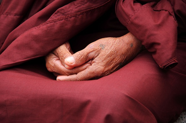 Monk, Hands, Faith, Person, Male, Pray, Religion, Man