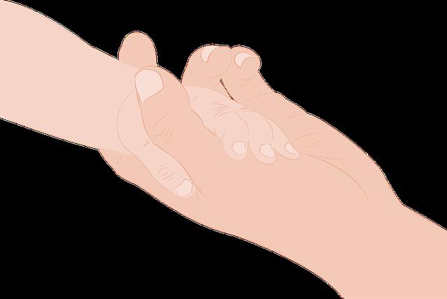 Hands, Mother, Child, Kid, Pen, Hand