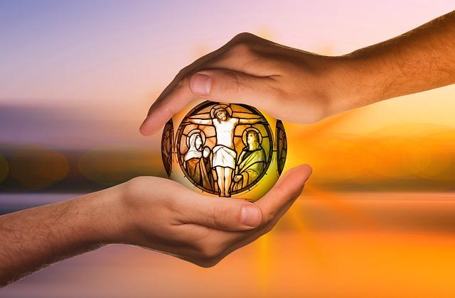 Religion, Jesus, Faith, Hands, Protect, Cross