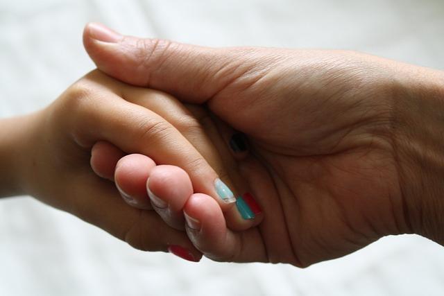 Nails, Hands Together, Holding Hands, Mother Daughter