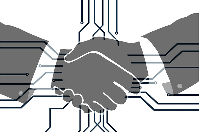 Hands, Shaking Hands, Handshake, Digitization, Board