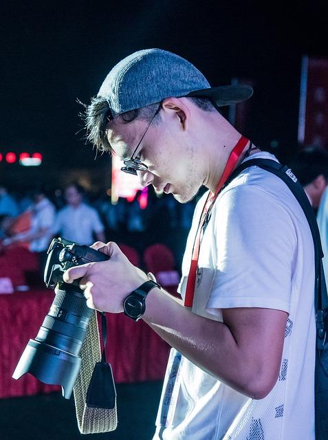 Photography, Art, Handsome Guy, Camera
