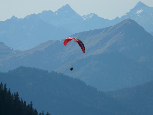 Paraglider, Flying, Flight, Glide, Hang Glider
