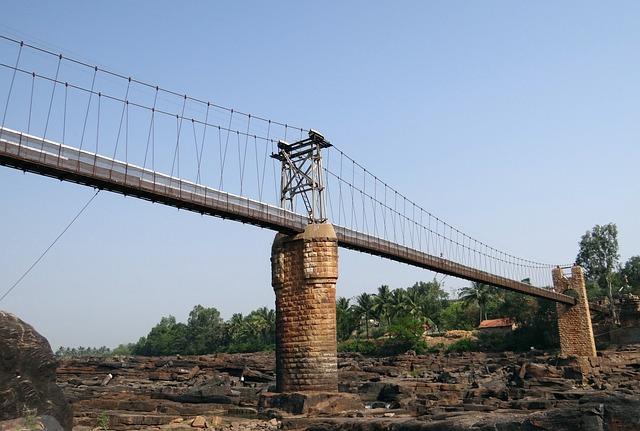 Hanging Bridge, Bridge, Suspension Bridge