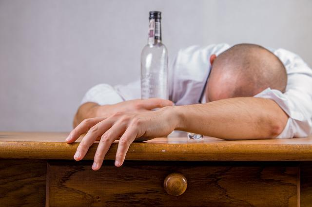 Man, Alcohol, Hangover, Drinking Session, Drunk