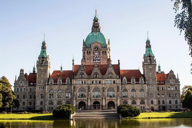 Hannover, City Hall, Germany, Landmark, Architecture