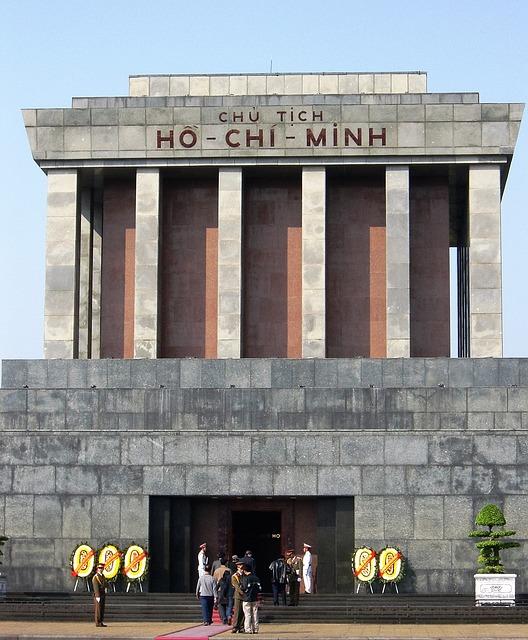 Mausoleum, Grave, Hanoi, Monument