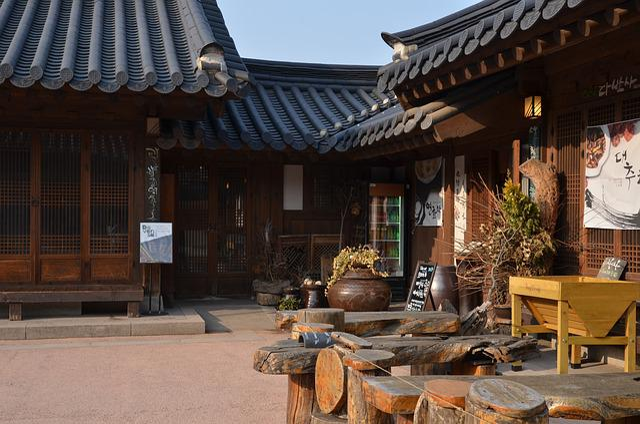 Hanok, Namsan, Seoul, Republic Of Korea, Korea