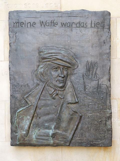 Heinrich Heine, Monument, Hanover, Lower Saxony