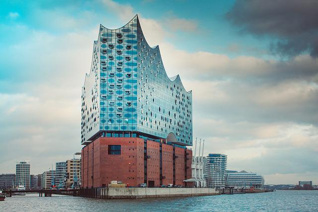 Hamburg, Elbe Philharmonic Hall, Hanseatic City, Elbe