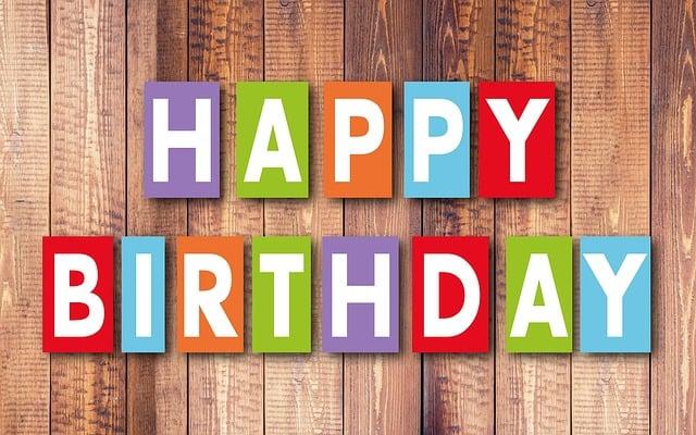 Birthday, Happy Birthday, Balloons, Greeting Card