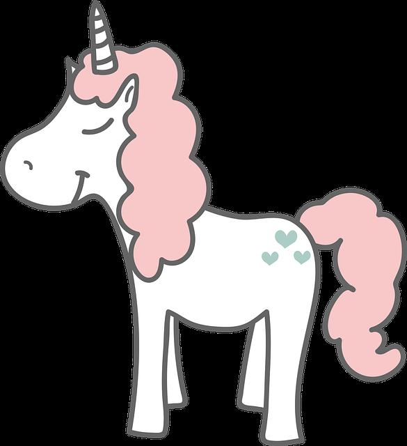 Unicorn, Happy, Magic, Horn, Cute, Child, Tale, Fantasy