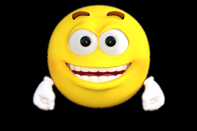 Emoticon, Emoji, Smile, Happy