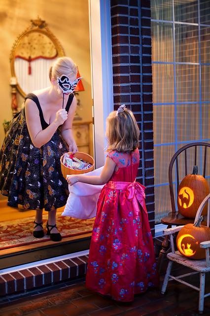 Halloween, Trick-or-treat, Pumpkin, Child, Fall, Happy