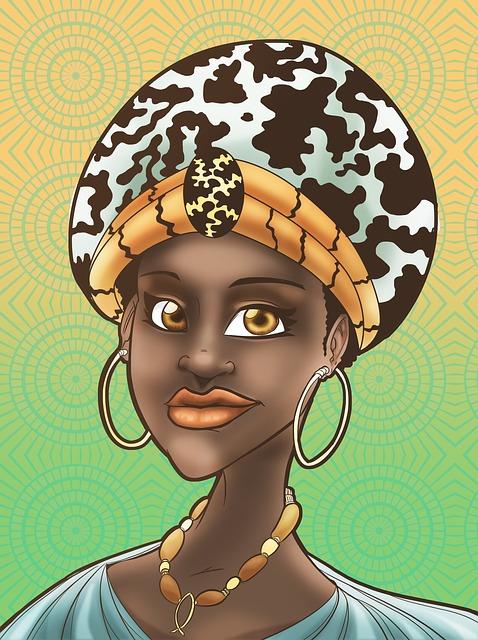 Woman, Happy, Headscarf, Female, Colorful, Culture