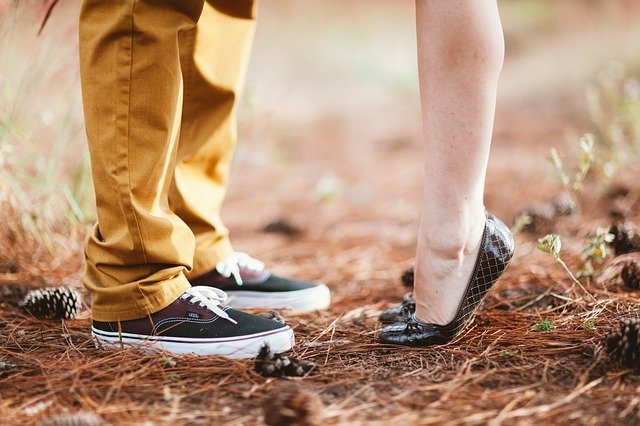 Feet, Young, Happy, Marriage, Retro, Love, Vintage